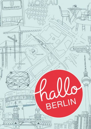 Buch Cover Hallo Berlin