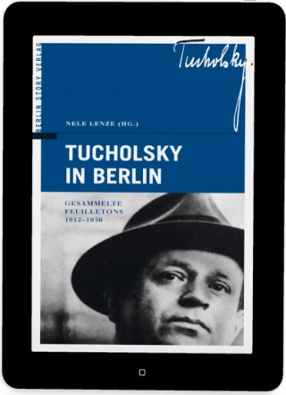 Buch Cover E-Book Tucholsky in Berlin