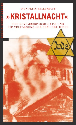 Buch Cover Kristallnacht