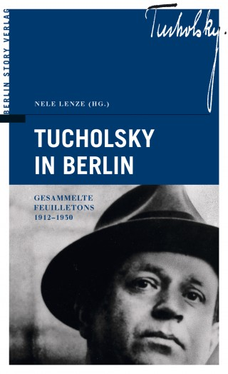 Buch Cover Tucholsky in Berlin