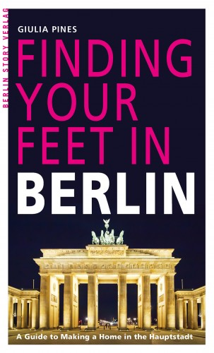 Buch Cover Finding Your Feet in Berlin