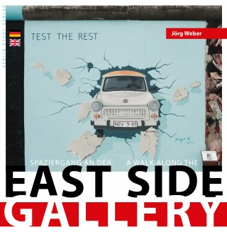 Buch Cover Spaziergang an der East Side Gallery