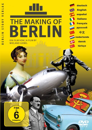 Buch Cover DVD The Making of Berlin
