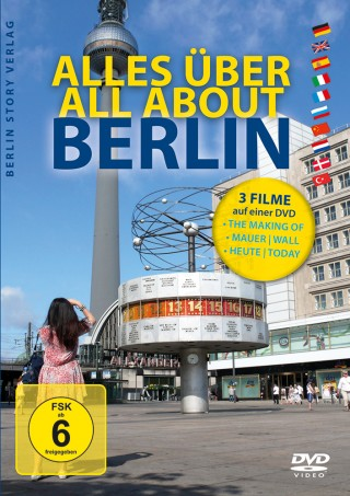 Buch Cover DVD Alles über Berlin - All About Berlin