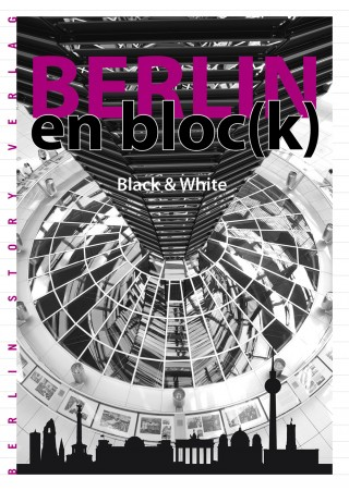 Buch Cover Berlin en block - Black and White