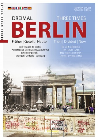 Buch Cover Dreimal Berlin - Three Times Berlin