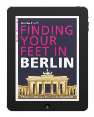 Buch Cover E-Book Finding Your Feet in Berlin